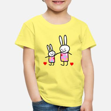 rabbit children - Kids' Premium T-Shirt