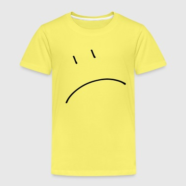Smiley traurig (dh) - Kinder Premium T-Shirt