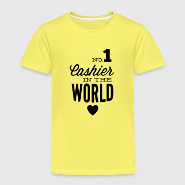 Best cashier of the world - Kinder Premium T-Shirt