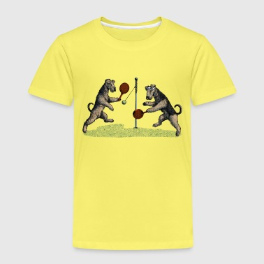 Airedale Swingball - Kinder Premium T-Shirt