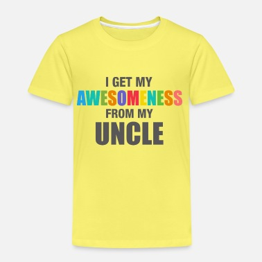 Uncle Awesomeness From Uncle - Kids' Premium T-Shirt