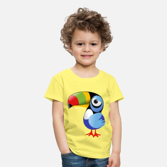 Collection For Kids Camisetas - Toucan - Camiseta premium niño amarillo