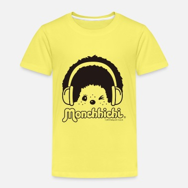 DJ Monchhichi winks with headphones - Kids' Premium T-Shirt