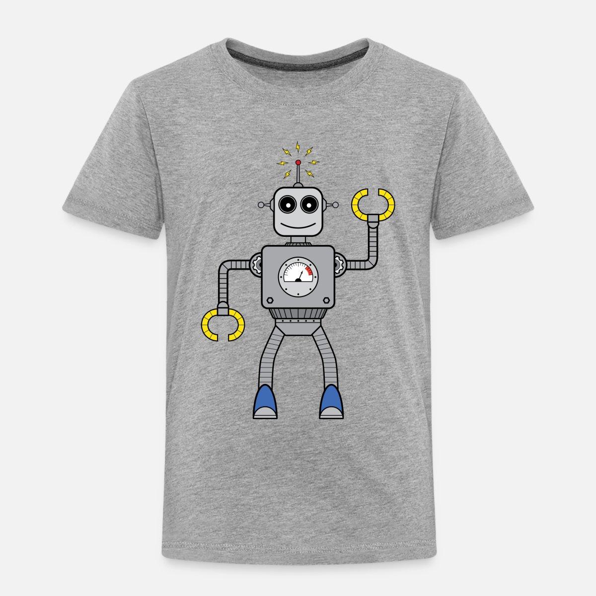 Freundlicher Roboter' Kinder Premium T Shirt   Spreadshirt