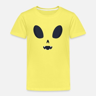 Alien monster kostym - Premium T-shirt barn