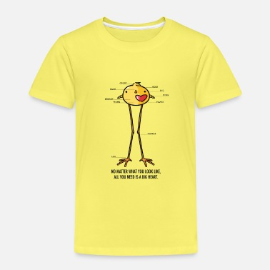 Big Heart Bird - T-shirt premium Enfant