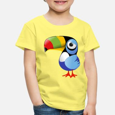 Collection For Kids Toucan - Lasten premium t-paita