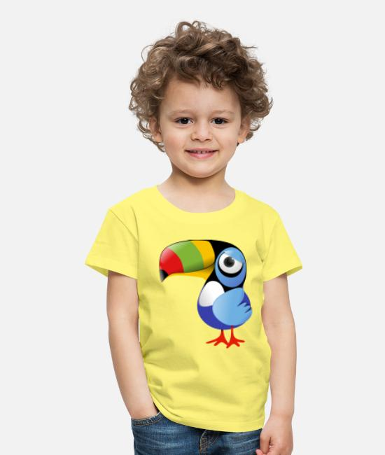 Angry Bird T-Shirts - Toucan - Kids' Premium T-Shirt yellow