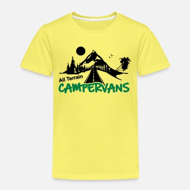 All All Terrain Campervans Logo - Kinder Premium T-Shirt