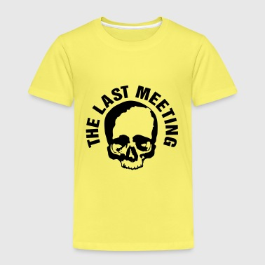 Last Meeting / letztes Meeting / Skull - Kinder Premium T-Shirt