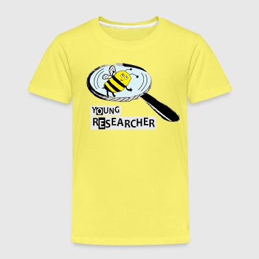 Young Researcher Bee - Kinder Premium T-Shirt