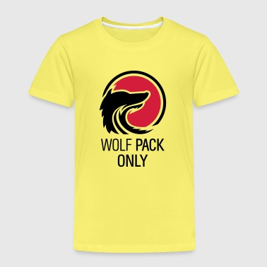 Wolfpack Only Hangover Crew mit Wolf 2c - Kinder Premium T-Shirt