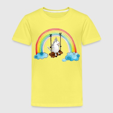 Swinging Unicorn - Kids' Premium T-Shirt