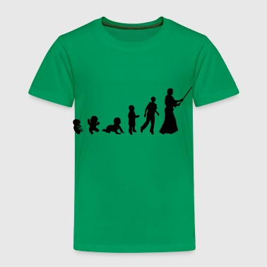 evolution aikido art martiaux bebe adult - T-shirt Premium Enfant
