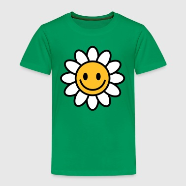 Marguerite smiley - Børne premium T-shirt