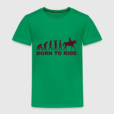 Evolution Reiten - Kinder Premium T-Shirt