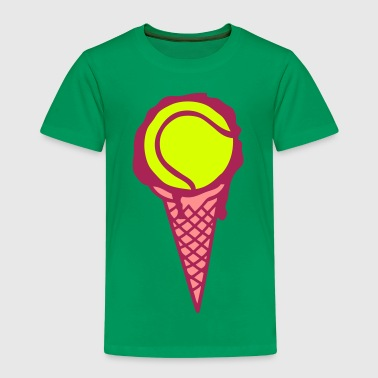 tennis glace icecream cornet ballon - T-shirt Premium Enfant