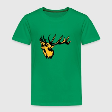 cerf animal brame deer 0 - T-shirt Premium Enfant