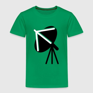 satellite dish facing to the sky  - Kids' Premium T-Shirt