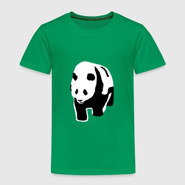 Panda - Premium T-skjorte for barn