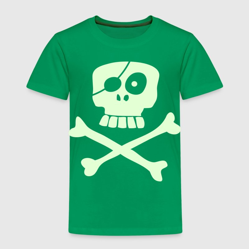Happy Pirate Skull & Bones - Kids' Premium T-Shirt
