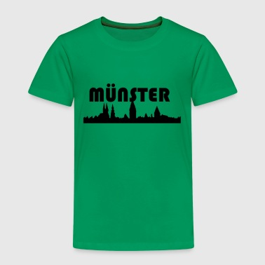 Münster Skyline - Kinder Premium T-Shirt