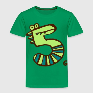 monster fünf - Kinder Premium T-Shirt