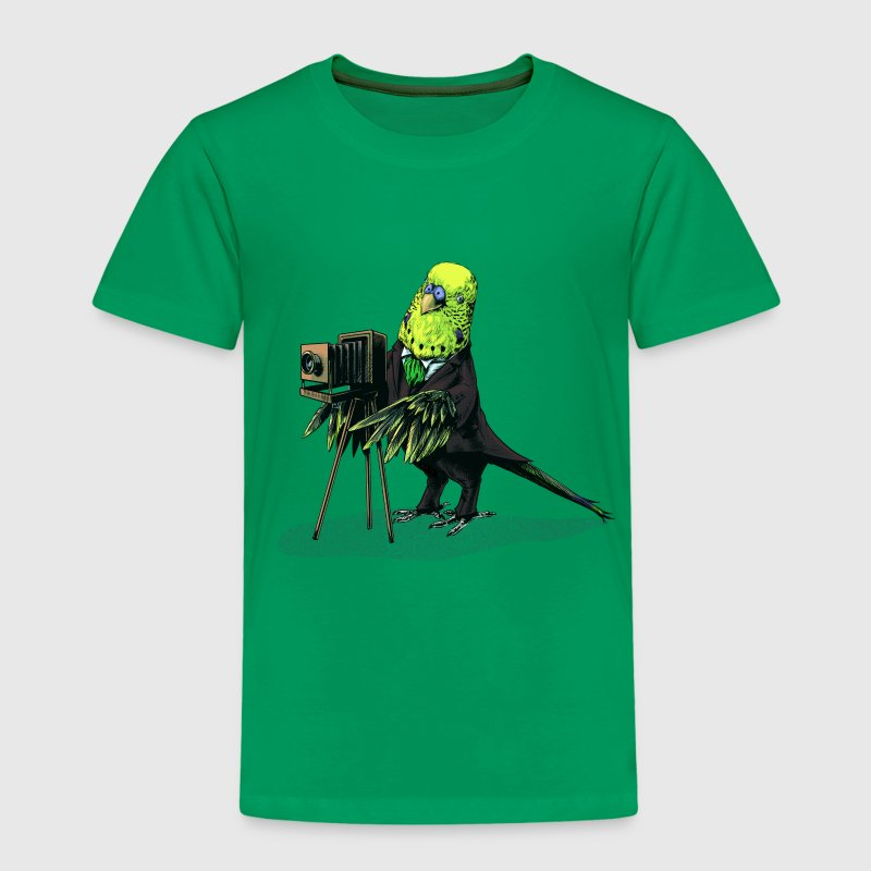 Budgie Camera - Kids' Premium T-Shirt