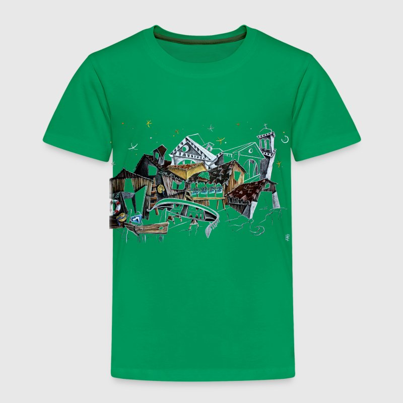 Venice T-shirts - Gondola Night Dream - Fashion Italy - Kids' Premium T-Shirt