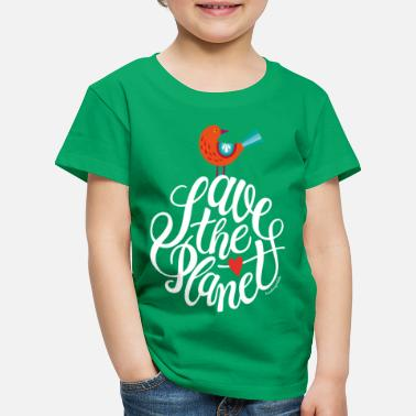 Earth Day save the planet - Kids' Premium T-Shirt