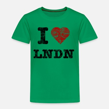 I Love LoNDoN vintage dark - Premium-T-shirt barn