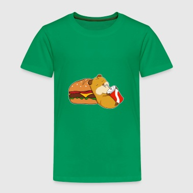 Animal Fast food hamster - Kids' Premium T-Shirt