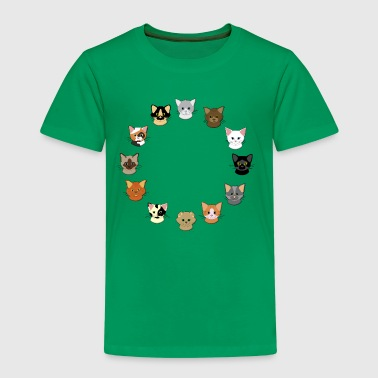 12 catheads - Kids' Premium T-Shirt