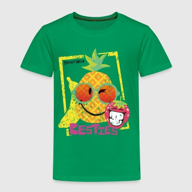 SmileyWorld 'Besties Fruits' Homme Tee Shirt - T-shirt Premium Enfant