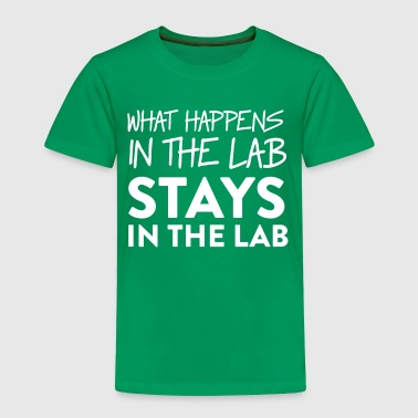 What Happens In The Lab Stays In The Lab - Kids' Premium T-Shirt