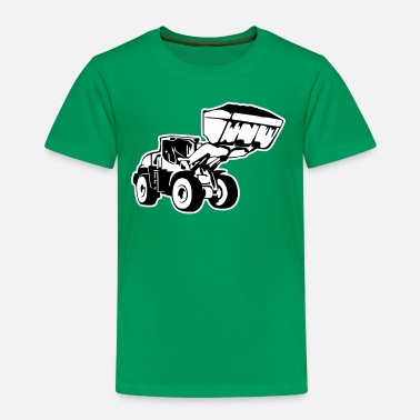 Radlader, Wheel Loader (2 color) - Kids' Premium T-Shirt