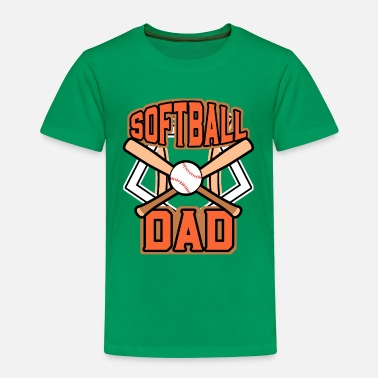 Softball Softball Dad - Camiseta premium niño