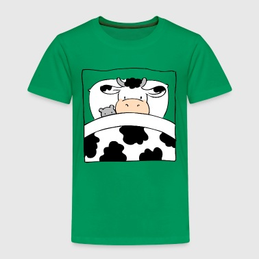 Cow in Bed - Kids' Premium T-Shirt