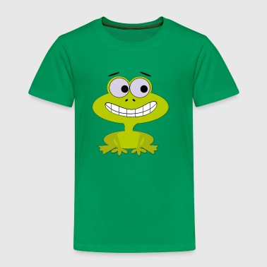 Comic-Frosch - Kinder Premium T-Shirt