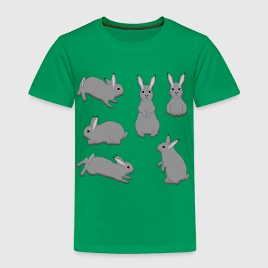 Rabbit grey - Kids' Premium T-Shirt