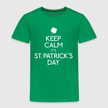 keep calm it's st. patrick's day - Kids' Premium T-Shirt