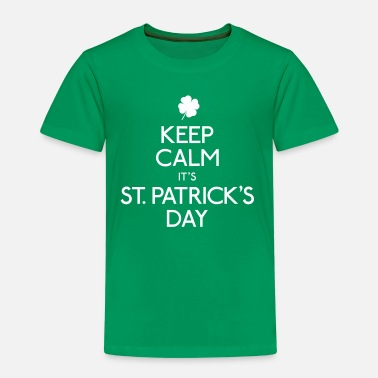 St Patricks Day keep calm it's st. patrick's day - Kids' Premium T-Shirt