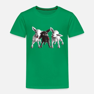 Lamb cheeky sheep - Kids' Premium T-Shirt