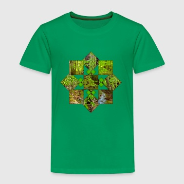 Nature Pattern - Kids' Premium T-Shirt