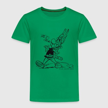 Asterix & Obelix - Asterix is singing Men's Hoodie - Kinderen Premium T-shirt