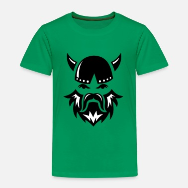 Bearded Stag Viking Face 2c - Kids' Premium T-Shirt