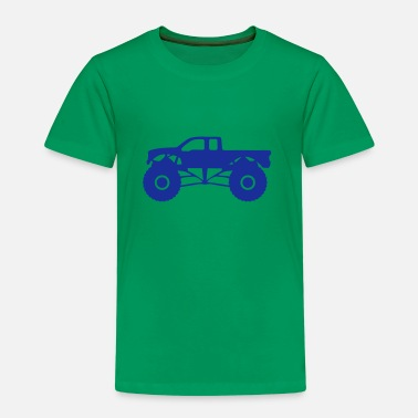 Monster monster truck vehicle all ground - Kids' Premium T-Shirt