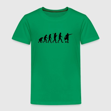 Evolution of Fussball - Kinder Premium T-Shirt