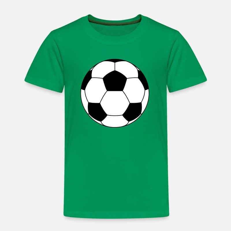Ballon De Foot T-shirts - Ballon de foot 2 - T-shirt premium Enfant vert