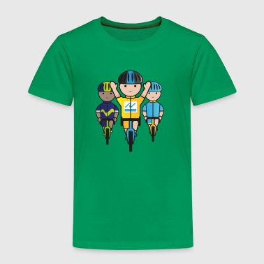 Mini-Racers-Finish - Kids' Premium T-Shirt